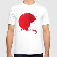 Scarlet Mens Fitted Tee White SMALL