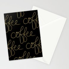 Coffee Dots Stationery Cards
