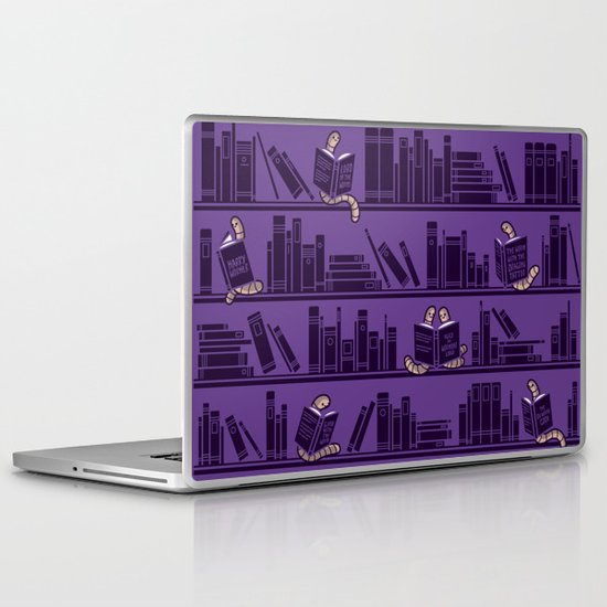 Bookworms Laptop & iPad Skin