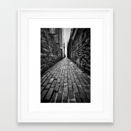 Ginnel Framed Art Print