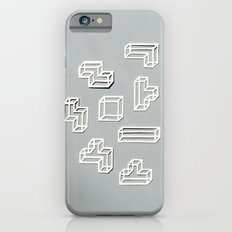 Tetris Papercut iPhone 6 Slim Case