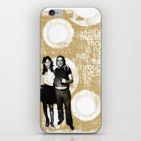 Walking Through Fire... iPhone & iPod Skin
