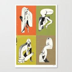 Pin-ups Canvas Print