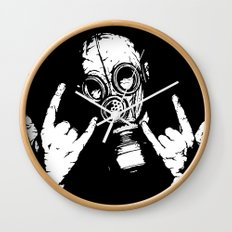 Devil Horns Wall Clock