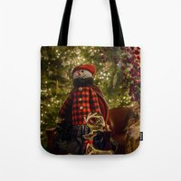 Merry Christams To All!  Tote Bag