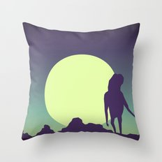 Honey-moon 2 Throw Pillow