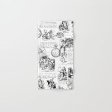 Alice in Wonderland - Pages Hand & Bath Towel
