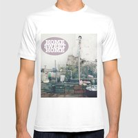 HOME SWEET HOME SERIES Mens Fitted Tee White SMALL