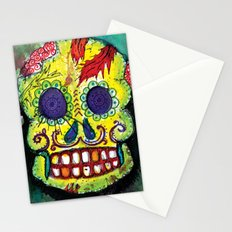 Spoiled Sugar Skull Stationery Cards