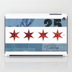 Ephemeral Chicago Flag iPad Case