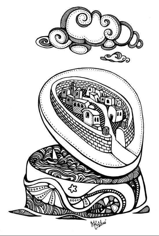 A different kind of jewellery box Art Print