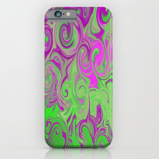 Pink and green  iPhone & iPod Case