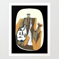 Vigilante Falls Art Print