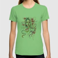 Higanbana Womens Fitted Tee Grass SMALL