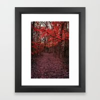 Fire Branch Framed Art Print