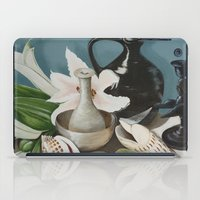 Kiwi fruit & Lillies iPad Case