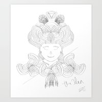 The Idea  Art Print