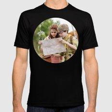 MOONRISE KINGDOM SMALL Mens Fitted Tee Black
