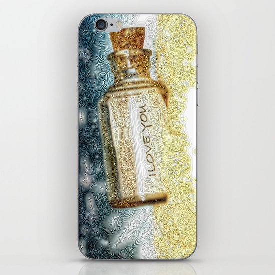 Message in a bottle... iPhone & iPod Skin