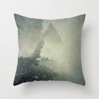 Hidden on the Hill Throw Pillow