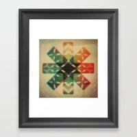 Technicolor Dream-o-Scop… Framed Art Print