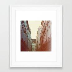 Lamplight Framed Art Print