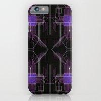 Circuit Board Purple Rep… iPhone 6 Slim Case