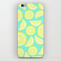 Lemon Citrus iPhone & iPod Skin