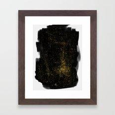 Entanglement of Stars Framed Art Print