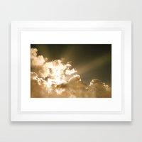 Good Morning Sunshine Framed Art Print