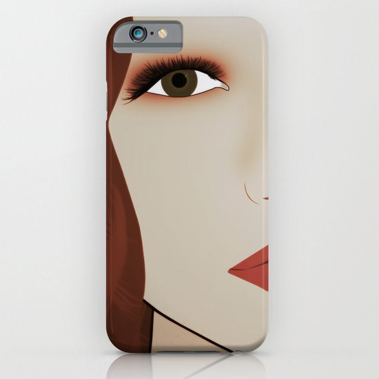 Red Head from Another Dream iPhone & iPod Case