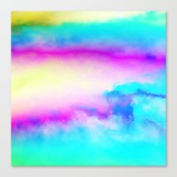 Happy Cloud III Canvas Print