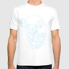 Oh Deer! Mens Fitted Tee White SMALL