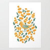 Birdie Bird Art Print