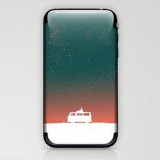 Quiet Night - starry sky iPhone & iPod Skin