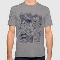 Dragon's Breath Mens Fitted Tee Athletic Grey SMALL