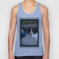 Mirror Image In Blue And… Unisex Tank Top