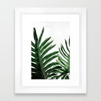 Leaves 1 Framed Art Print