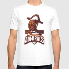 Mon Calamari Admirals Mens Fitted Tee White SMALL