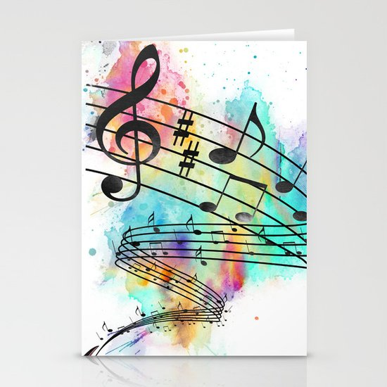 Sing for... Stationery Card