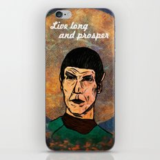 Live Long... iPhone & iPod Skin
