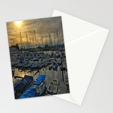 Sunset in Shoreline Stationery Cards