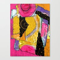 Patched Canvas Print