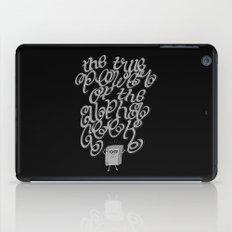 Alpha Geek iPad Case