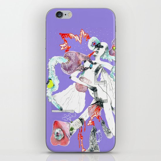 ONLY POSSESSED GIRLS DIDDLE iPhone & iPod Skin