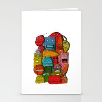 Robots Of Cornwall Stationery Cards