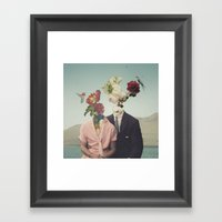 Somewhere Else Framed Art Print