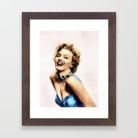 Marilyn #1 Framed Art Print