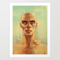 Witness me Art Print