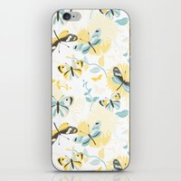 Butterflies In The Garde… iPhone & iPod Skin